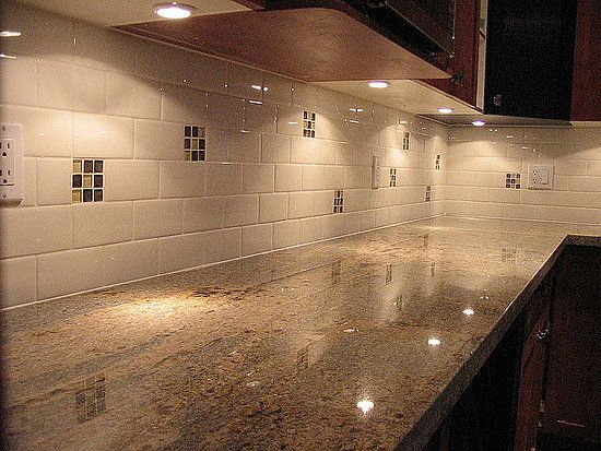 White kitchen backsplash ideas kitchens pinterest for Backsplash ideas for kitchen pinterest