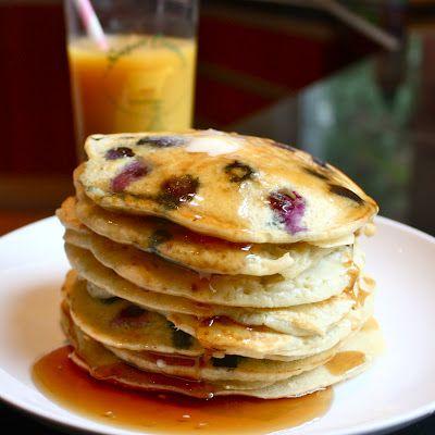 blueberry buttermilk pancakes | Indulge | Pinterest