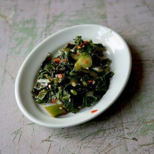 Chinese Broccoli by Saveur. At the Houston restaurant Reef, Chinese ...