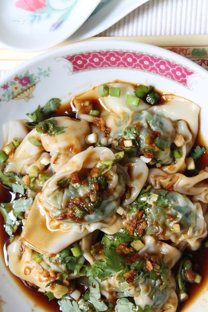Pork And Spinach Wonton Recipes — Dishmaps