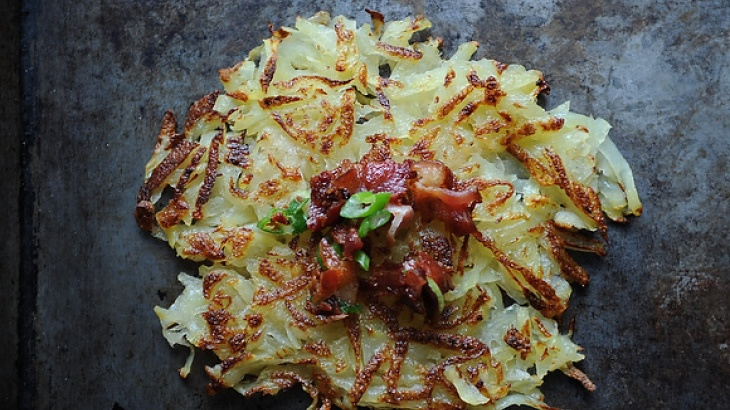 Horseradish Hash Browns | The way to a man's heart is through his sto ...