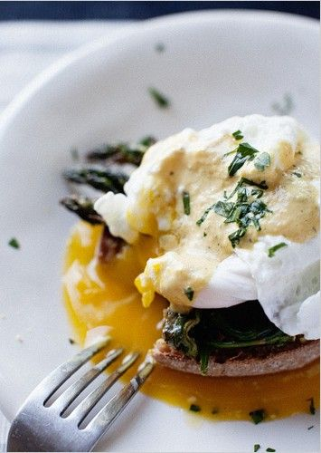 Vegetable Eggs Benedict Recipe — Dishmaps