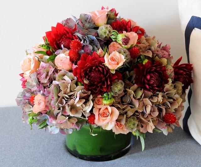 love this fall arrangement