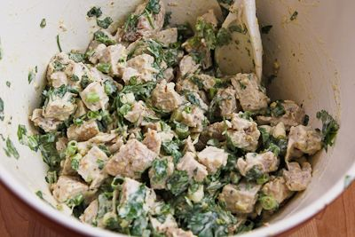 Leftover Turkey (or chicken) Salad with Indian Spices, Lemon, and Cil ...