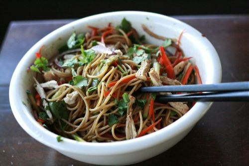 Cold Chinese Noodle Salad | Asia | Pinterest