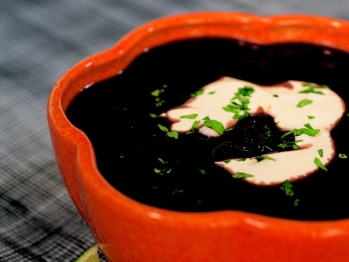 South Beach Black Bean Soup from Cookstr. http://punchfork.com/recipe ...