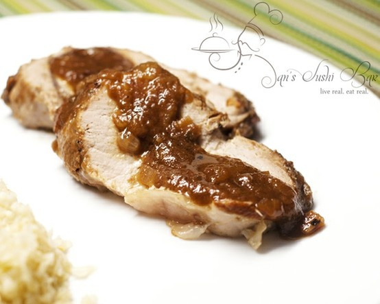 Apple Butter Pork Loin Recipe — Dishmaps
