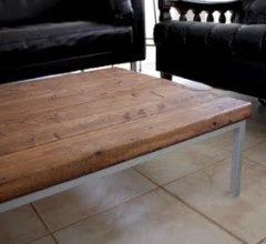 Wood top coffee table DIY | DIY Home | Pinterest