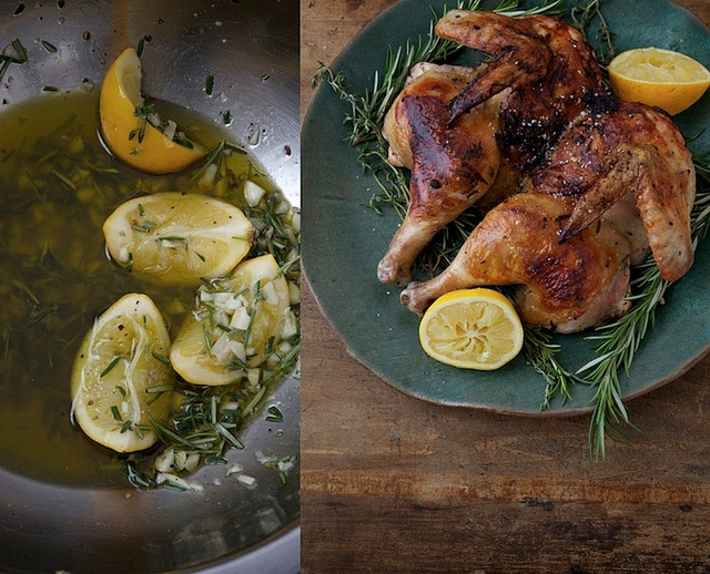 Tuscan Grilled Chicken Under A Brick Recipes — Dishmaps