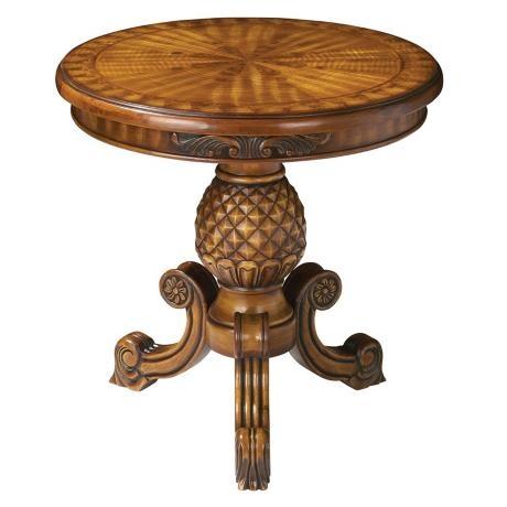 Brass Pineapple Table Lamp Pineapple Accent Table | PINEAPPLE HOSPITALITY | Pinterest