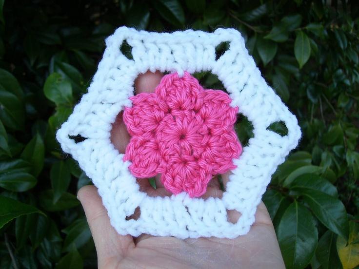 Crochet Patterns With Scrap Yarn : Scrap Yarn Crochet: free crochet pattern Flowers Pinterest
