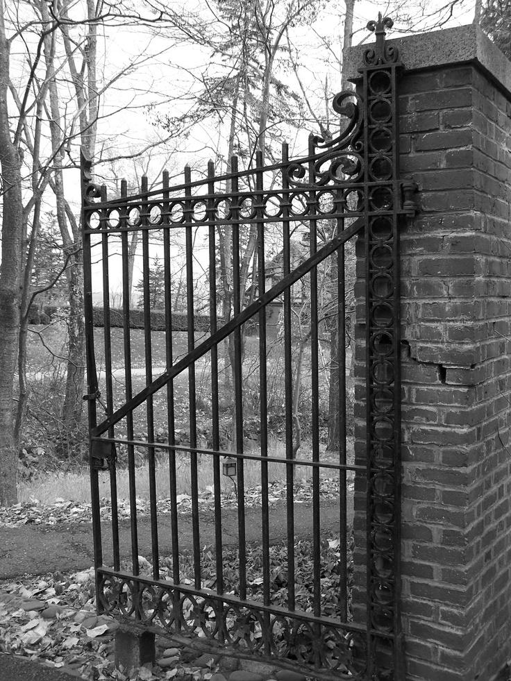 Gates of Glensheen Mansion, Duluth, Minnesota