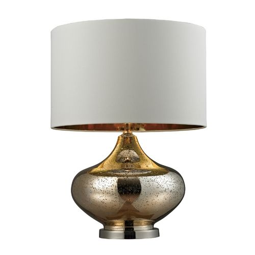 dimond lighting hgtv mercury glass table lamp in with antique gold and. Black Bedroom Furniture Sets. Home Design Ideas