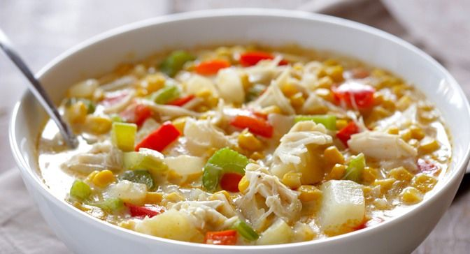 Summer Sweet Corn Soup With Lump Crab, Chives And Old Bay Recipes ...