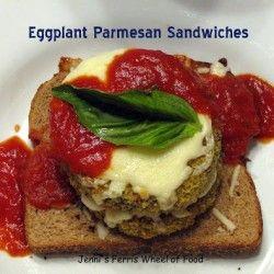 Eggplant Parmesan Sandwiches | Sandwich | Pinterest