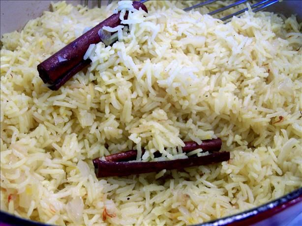 Indian Saffron Rice by food.com. Photo by Rita: So fragrant! #Rice # ...