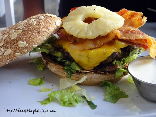Pineapple Bacon Burger | Food | Pinterest
