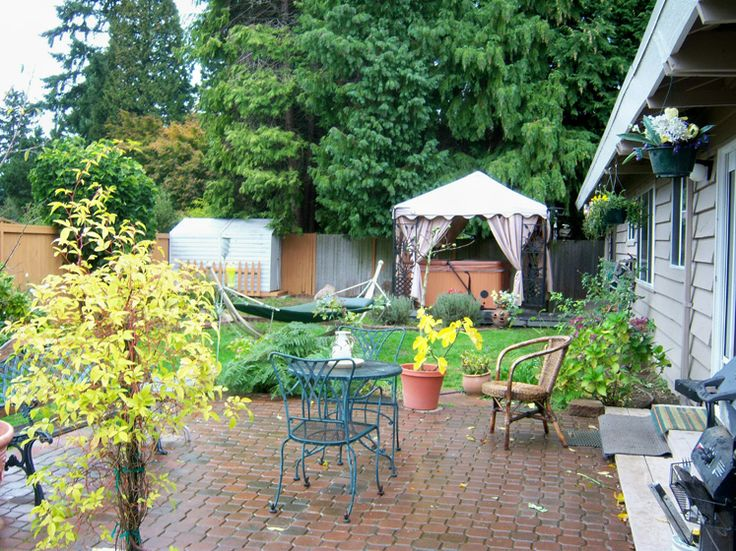 Landscaping Small Backyard Landscaping Ideas Hot Tub