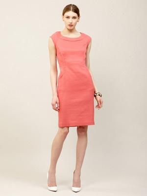 Lafayette 148 New York Maddy Textured Wool Blend Dress