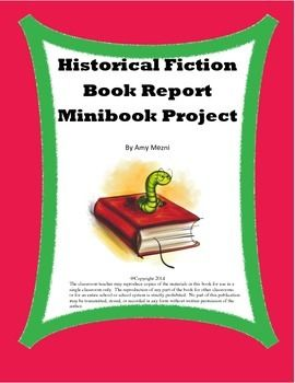historical fiction book report projects