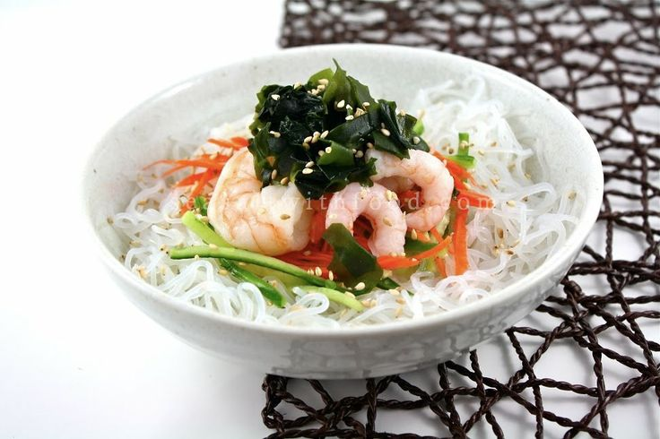 Seasaltwithfood: Japanese Salad With Sweet Vinegar Dressing-Sunomono