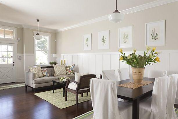 Board Batten Living Room Pinterest