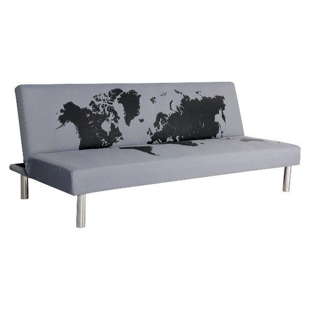 Studio du monde sleeper sofa gray black