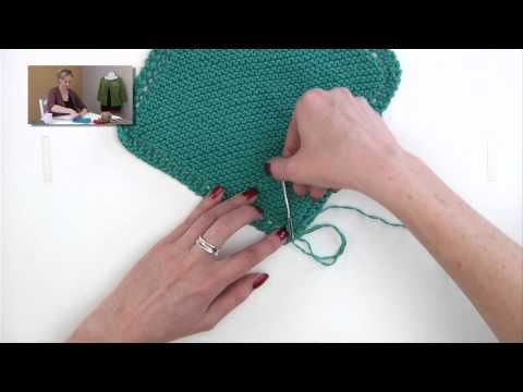 How to Knit: Weaving in Ends - NewStitchaDay.com