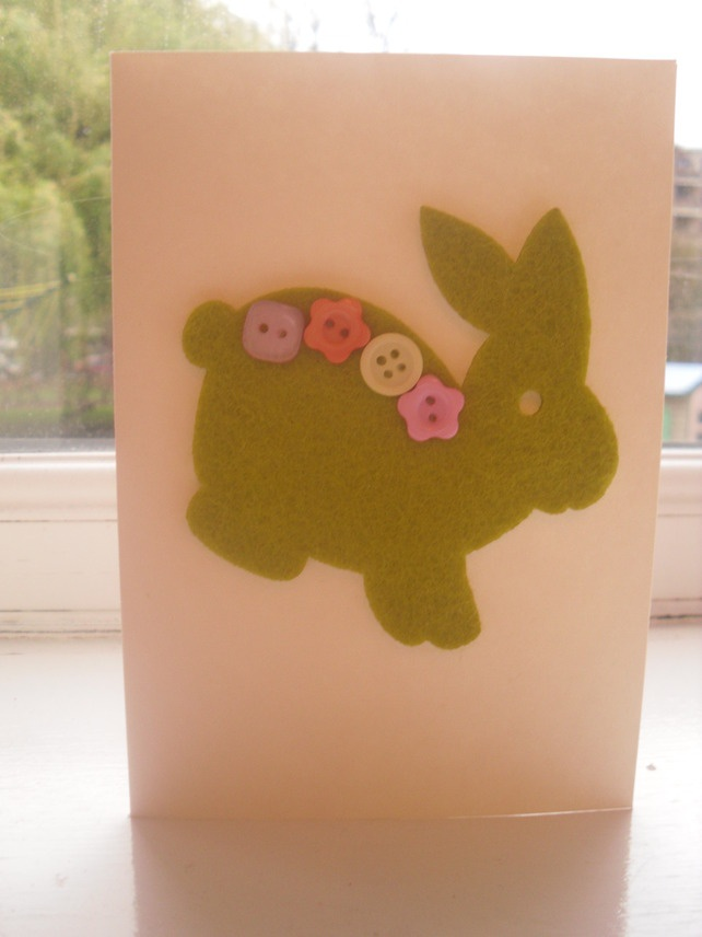 Easter Bunny Card £2.50