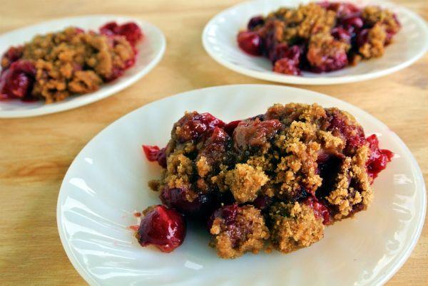 Simple & Easy Tart Cherry Cobbler   Food   Pinterest