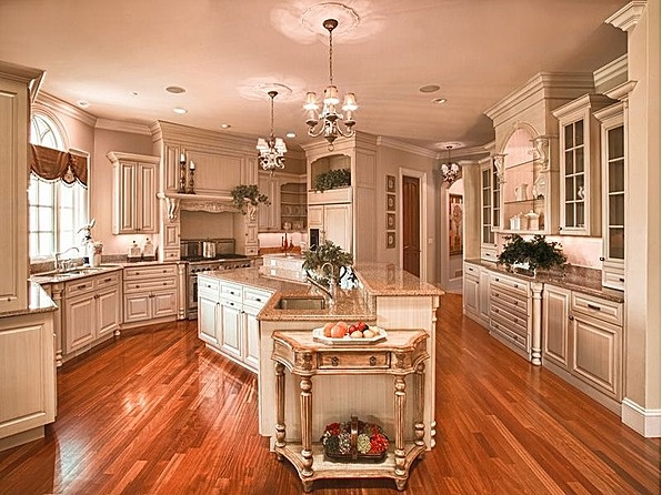 What a kitchen this is!