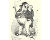 Smoking Elephant Grandville Elephant