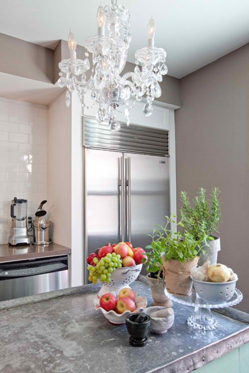 kitchen counter display kitchen pinterest