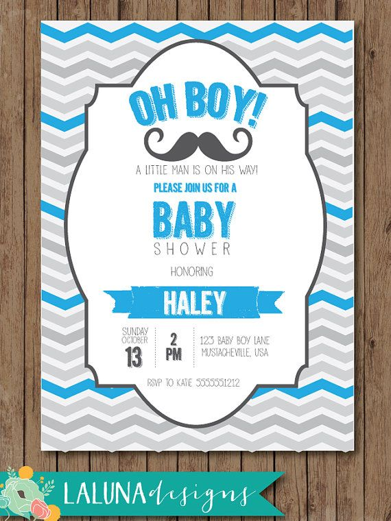 mustache baby shower invitation mustache baby shower little man baby