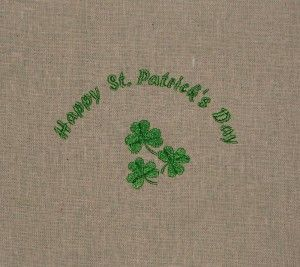 Happy St. Patricks Day to all with this complimentary design.