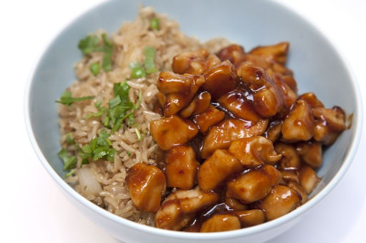 Bourbon Chicken like at the mall | Main Courses | Pinterest