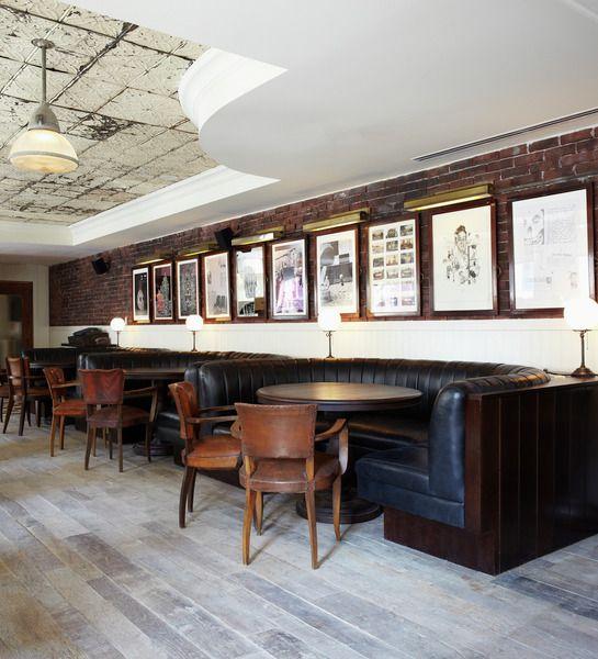 12 chairs restaurant soho house