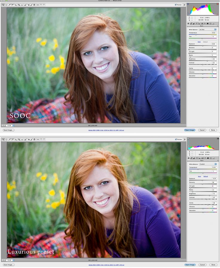 How Oh so Posh Photography edits her photos