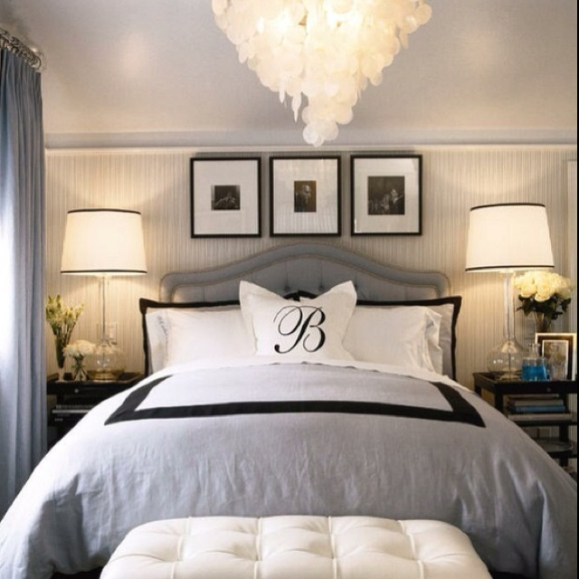 Master Bedroom Gray Decor Pinterest
