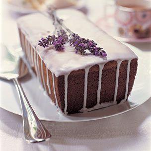 lemon lavender- cake