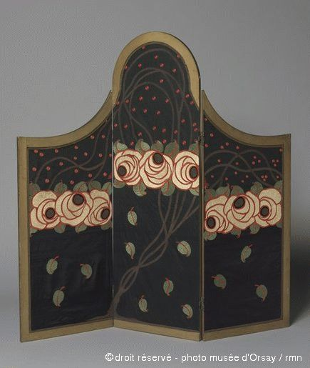 Atelier Martine Screen with three leaves