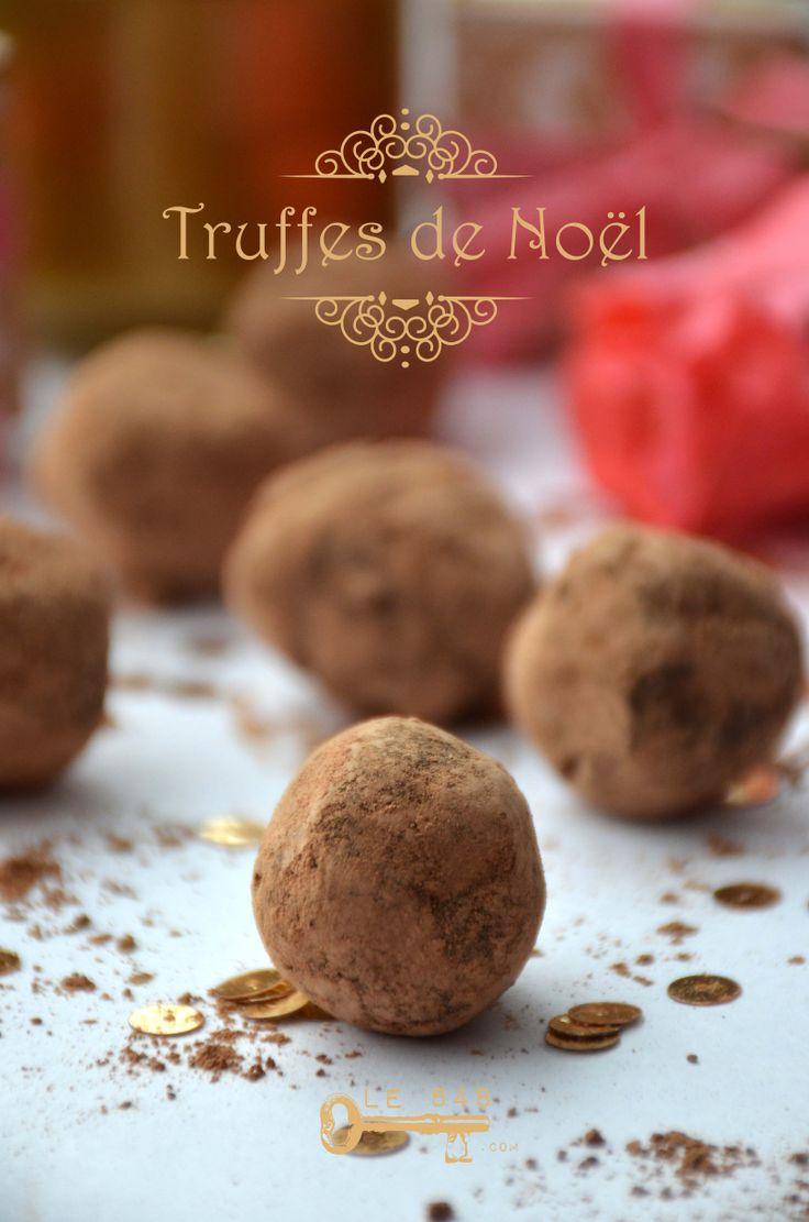 Truffes au chocolat | Le 848 : {Les sucrés} | Pinterest