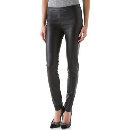 Shine Dowenne Faux Leather Pants