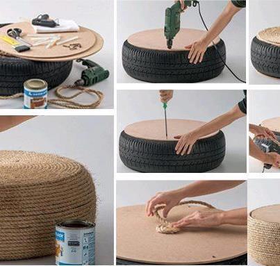 pouf en osier osier pinterest. Black Bedroom Furniture Sets. Home Design Ideas