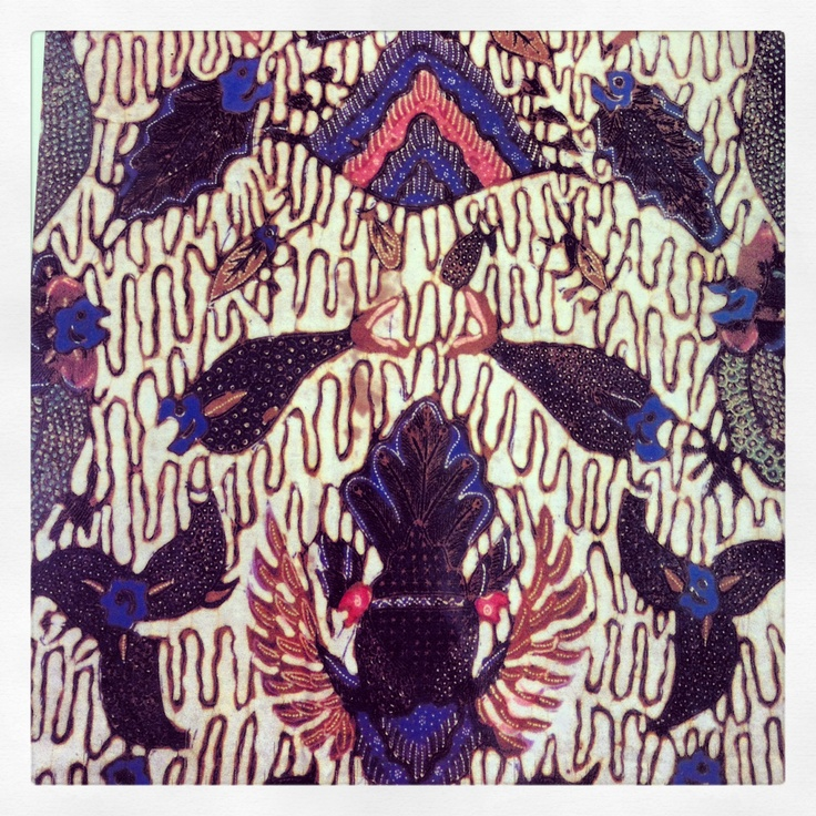 Batik from Banyumas, Central Java, Indonesia