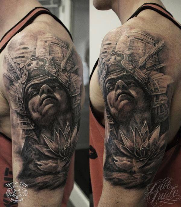 The gallery for aztec jaguar tattoos for Jaguar warrior tattoo