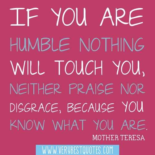 """thoughts on being humble By being submissive and """"clothing ourselves with humility"""" we can create peace and unity with the others we are not to be so proud and high up that we can't accept correction or exhortation neither should we be of the mindset that our own opinions and thoughts always are better than the others such thinking won't lead."""