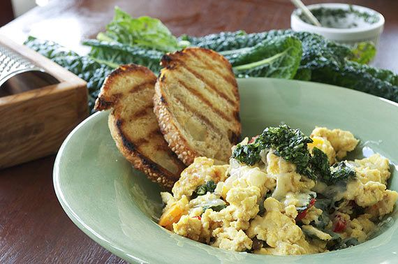How to Make a Tuscan Scramble | RECIPES: Breakfast and Brunch | Pinte ...