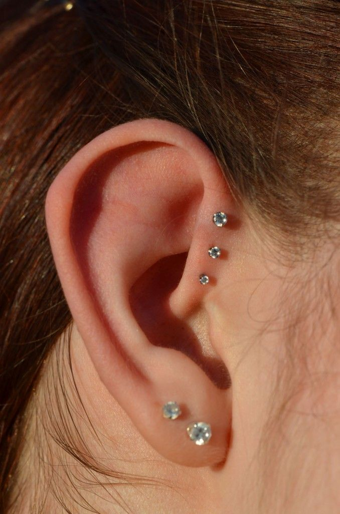 ear piercings triple helix the image kid has it. Black Bedroom Furniture Sets. Home Design Ideas