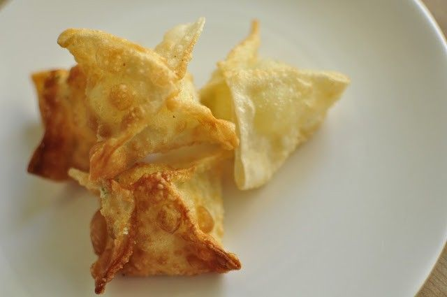 Cream Cheese Won Tons - Appetizers - Recipe Index